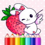 Animated Kids Coloring Book 3.3 (Mod Unlimited Money)