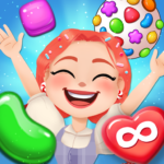 Candy Go Round – #1 Free Candy Puzzle Match 3 Game 1.6.0 (Mod Unlimited Money)