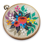 Cross Stitch Club — Color by Numbers with a Hoop 1.4.45 (Mod)
