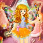 Fairy Dress Up for Girls Free 1.4.0 (Mod Unlimited Money)