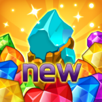 Jewels fantasy:  Easy and funny puzzle game 1.7.2 (Mod Unlimited Money)