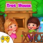 Kids Tree House Games 1.0.3(Mod Unlimited Money)
