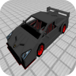 Luxcar-V Sports Mod for MCPE 4.4 (Mod Unlimited Money)