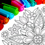 Mandala Coloring Pages 16.4.2 (Mod Unlimited Features)