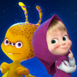Masha and the Bear: We Come In Peace! 1.0.9 (Mod Unlimited Money)