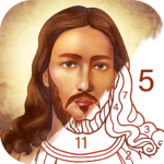 Bible Coloring – Paint by Number, Free Bible Games 2.22.0 (Mod Unlimited Money)
