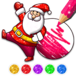 Christmas Coloring Game – Learn Colors 4.3 (Mod Unlimited Money)