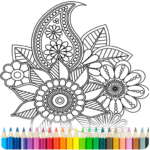 Coloring Book for Adults 8.1.2  (Mod Unlimited Money)