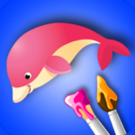 Coloring Book for Kids: Animal 2.1.2 (Mod Unlimited Money)