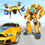 Drone Robot Car Game – Robot Transforming Games 1.2.3 (Mod Unlimited Money)