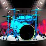 Drum Hero (rock music game, tiles style) 2.4.3 (Mod Unlimited Money)