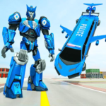 Flying Limo Robot Car Transform: Police Robot Game 1.0.17 (Mod Unlimited Money)