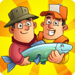 Idle Fishing Clicker-top new tap tycoon games 2020 1.3.8 (Mod Unlimited Money)