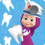 Masha and the Bear: Free Dentist Games for Kids 1.3.6 (Mod Unlimited Money)