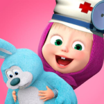 Masha and the Bear: Toy doctor 1.2.3 (Mod Unlimited Money)