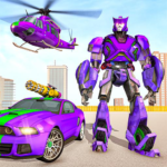 Police Robot Car Rampage: New robot shooting Games 1.10 (Mod Unlimited Money)