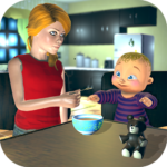 Real Mother Baby Games 3D: Virtual Family Sim 2019 1.0.6 (Mod Unlimited Money)