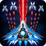 Space shooter – Galaxy attack – Galaxy shooter 1.523 (Mod Unlimited Crystals)