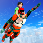 US Light Robot  Speed Hero :City Rescue Mission 1.0.21 (Mod Unlimited Money)