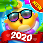 Bird Friends : Match 3 & Free Puzzle 1.7.8 (Mod Unlimited Coins)