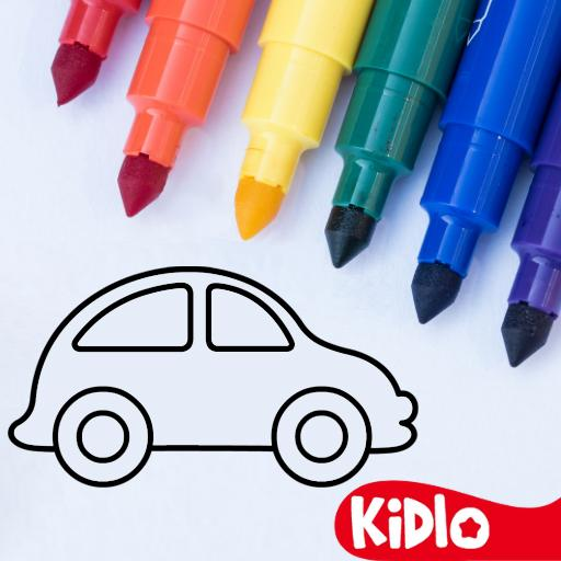 Coloring Games for Kids – Drawing & Color Book 2.4.5 (Mod Unlimited Money)