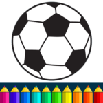 Football coloring book game 16.4.2 (Mod)