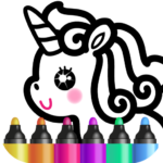 Kids Drawing Games for Girls 🎀 Apps for Toddlers! 1.4.3.4  (Mod Unlimited Money)