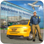 Real Taxi Airport City Driving-New car games 2020 1.8 (Mod Unlimited Money)