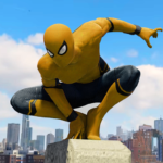 Spider Rope Hero – Gangster New York City 1.5.16  (Mod Unlimited Money)