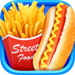 Street Food  – Make Hot Dog & French Fries 1.7 (Mod Unlimited Money)