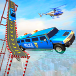 US Police Limo Ramp Car Stunts: Police Car Games 1.7 (Mod Unlimited Money)