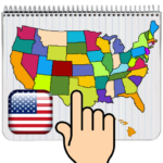 USA MAP 50 States Puzzle Game 2.004 (Mod Unlimited Money)
