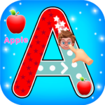 ABC Tracing Alphabets And Numbers 1.0.13 (Mod Unlimited Money)