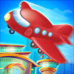Airport Activities Adventures Airplane Travel Game 1.0.5 (Mod Unlimited Money)