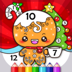 Christmas Coloring Book By Numbers 2.4 (Mod Unlimited Money)