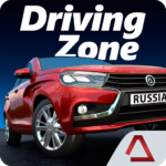 Driving Zone: Russia 1.32  (Mod Unlimited Money)