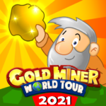 Gold Miner World Tour: Gold Rush Puzzle RPG Game 1.8.4  (Mod Unlimited Money)