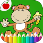 Jungle Animals Coloring Book 9 (Mod Unlimited Money)