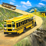 Offroad School Bus Driving: Flying Bus Games 2020 1.45  (Mod Unlimited Money)