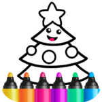 Toddler Drawing Academy🎓 Coloring Games for Kids 2.2.0.20 (Mod Unlimited characters)