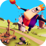 Catapult Shooter 3D💥: Revenge of the Angry King👑 1.0.19 (Mod Unlimited Money)
