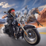 Outlaw Riders: War of Bikers   0.3.4 (Mod Unlimited Money)