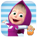 A Day with Masha and the Bear 20.4 (Mod Unlimited Money)