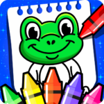 Coloring Games : PreSchool Coloring Book for kids 4.0 (Mod Unlimited Money)