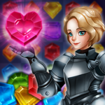 Magical Jewels of Kingdom Knights: Match 3 Puzzle 1.9.0  (Mod Unlimited Money)