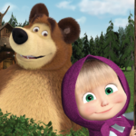 Masha and the Bear. Educational Games 6.6  (Mod Unlimited Money)