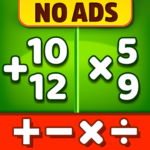 Math Games – Addition, Subtraction, Multiplication 1.1.7  (Mod Unlimited Money)