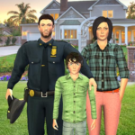 Virtual Police Family Game 2020 -New Virtual Games 1.3 (Mod Unlimited Money)