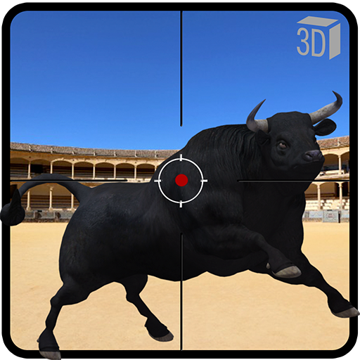 Angry Bull Attack Shooting  (Mod Unlimited Money) 802.5