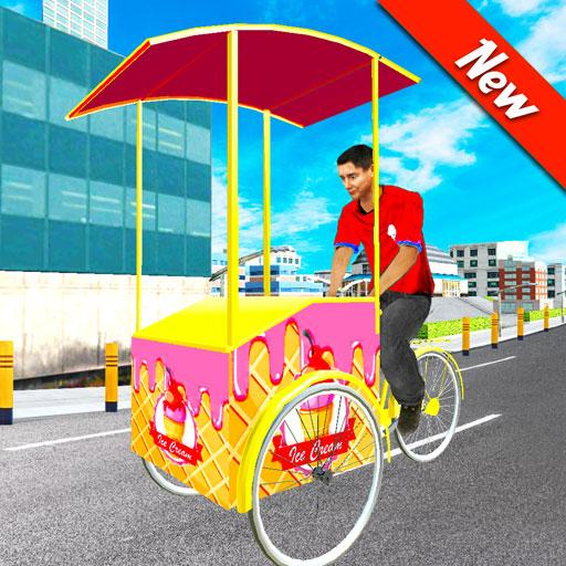 City Ice Cream Man Free Delivery Simulator Game 3D 2.3 (Mod Unlimited Money)